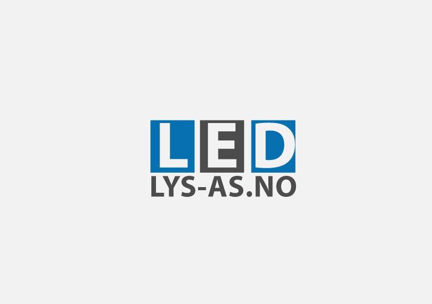 Bài tham dự cuộc thi #59 cho Design a logo for the web-site www.ledlys-as.no