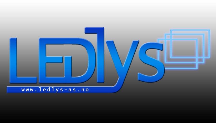 Bài tham dự cuộc thi #52 cho Design a logo for the web-site www.ledlys-as.no