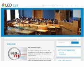 Bài tham dự #28 về Graphic Design cho cuộc thi Design a logo for the web-site www.ledlys-as.no
