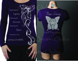 #14 para Design a T-Shirt for Walk to cure Lupus por MariInk
