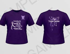 #7 para Design a T-Shirt for Walk to cure Lupus por inkpotstudios