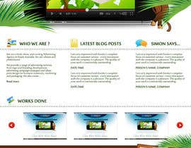 #15 para Wordpress Theme Design for Blue Baboon Advertising por Flamex