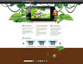 #14 для Wordpress Theme Design for Blue Baboon Advertising от Flamex