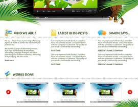 #13 for Wordpress Theme Design for Blue Baboon Advertising by Flamex