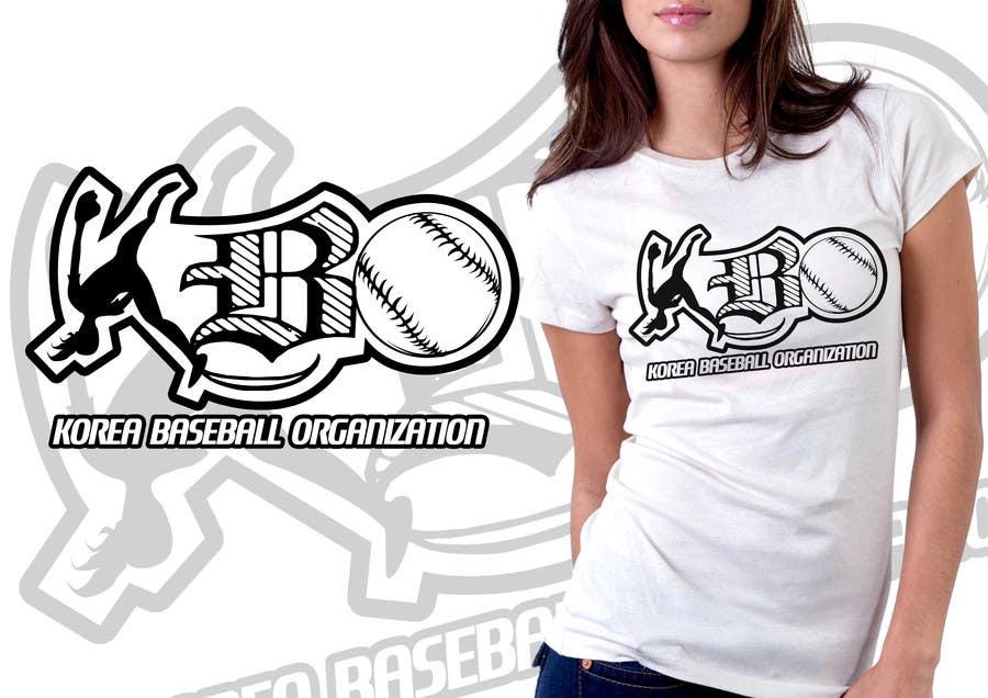 #5 for Design a T-Shirt for a Korean baseball website by mckirbz