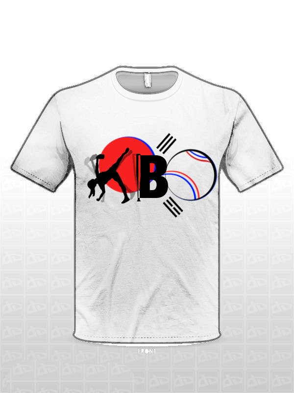 #20 for Design a T-Shirt for a Korean baseball website by sonjit43