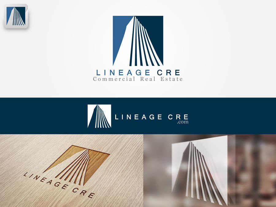 #82 for Design a Logo for Lineage CRE by johanmak