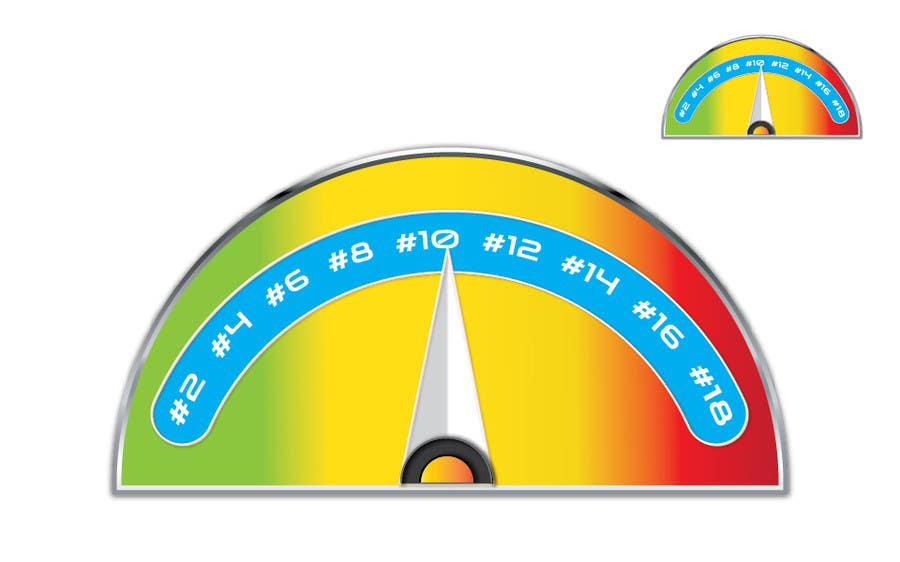 #11 for Need a website graphic of a meter / gauge by umamaheswararao3