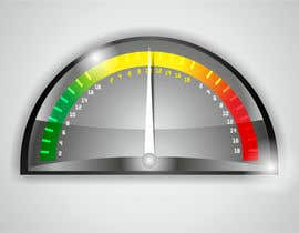 #2 for Need a website graphic of a meter / gauge by pixelrover