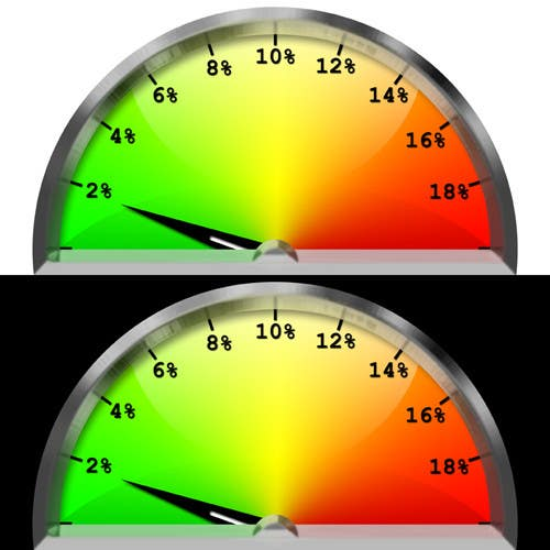 #10 for Need a website graphic of a meter / gauge by ErikRoss