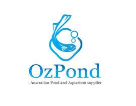 #87 for Design a Logo for Oz Pond and Aquarium Supplies af ccet26