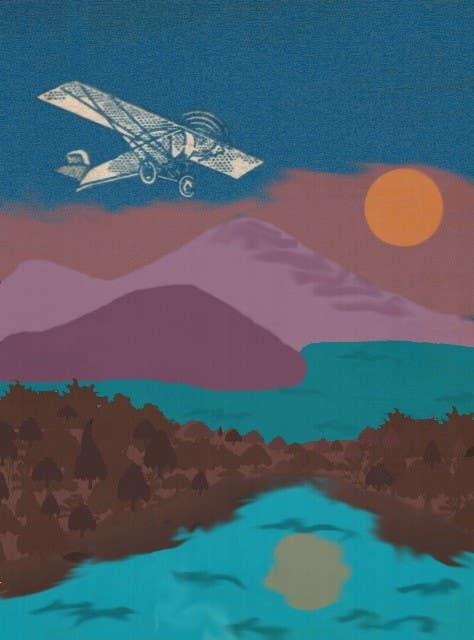 #9 for Design retro travel poster by doringa