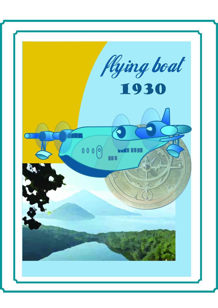 #4 for Design retro travel poster by zahrazibarazzzz