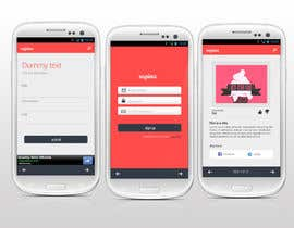 #3 for Design an App Mockup for a HTML 5/Android/Iphone/Blackberry Application by reginayanzon