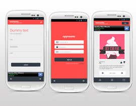 nº 6 pour Design an App Mockup for a HTML 5/Android/Iphone/Blackberry Application par reginayanzon