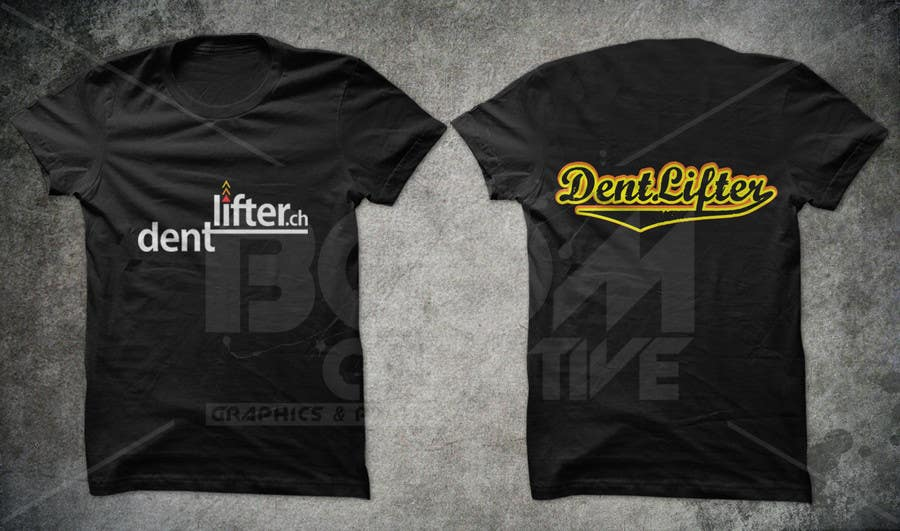 #28 for T-Shirt design for dentlifter by armanlim