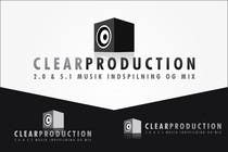 "Graphic Design Contest Entry #1104 for Logo Design for ""CLEAR PRODUCTION"" - Recording a mixing studio in Copenhagen"