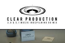 "Graphic Design Contest Entry #1186 for Logo Design for ""CLEAR PRODUCTION"" - Recording a mixing studio in Copenhagen"