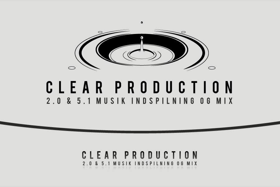 "Contest Entry #                                        1197                                      for                                         Logo Design for ""CLEAR PRODUCTION"" - Recording a mixing studio in Copenhagen"