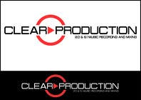 "Graphic Design Contest Entry #1318 for Logo Design for ""CLEAR PRODUCTION"" - Recording a mixing studio in Copenhagen"