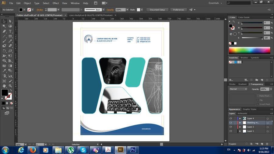Inscrição nº                                         21                                      do Concurso para                                         Design a presentation folder for medical imaging company