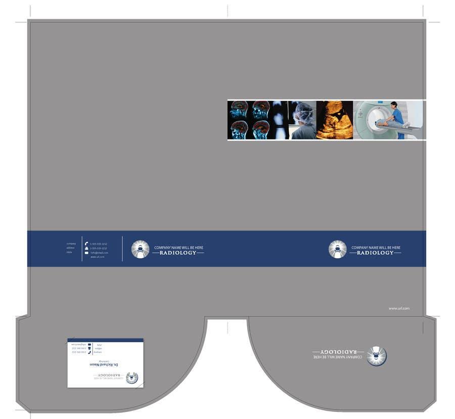 Inscrição nº                                         4                                      do Concurso para                                         Design a presentation folder for medical imaging company