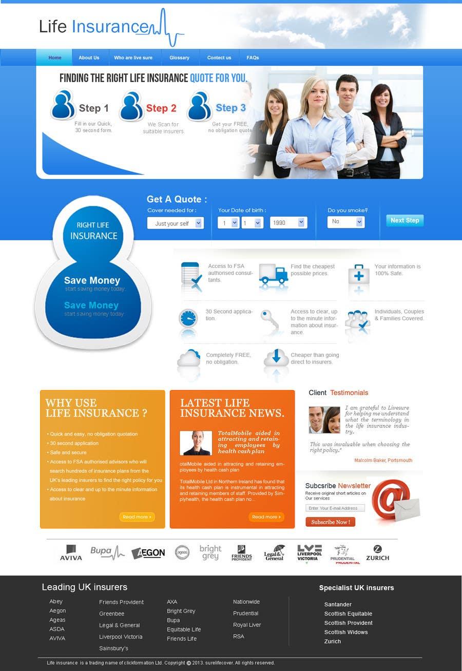 Konkurrenceindlæg #                                        1                                      for                                         Design a Website Mockup for the website