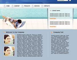 #12 cho Design a Website Mockup for the website bởi shrish02