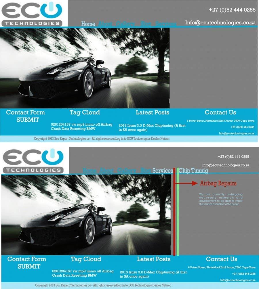 Inscrição nº                                         5                                      do Concurso para                                         Redo website, and business identity