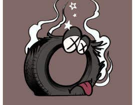Nro 1 kilpailuun Car Tire Character käyttäjältä zoolei