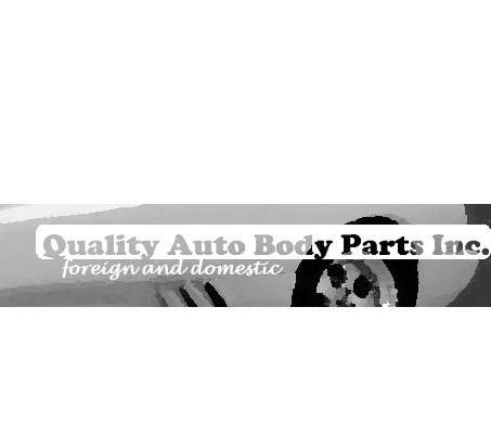 #19 for Design a Logo for Quality Auto Body Parts Inc. by superzitguy