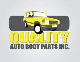 #3 para Design a Logo for Quality Auto Body Parts Inc. por dannnnny85