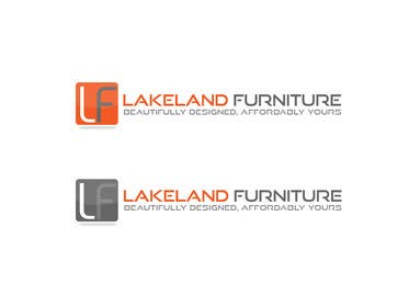 #197 untuk Design a Logo for Lakeland Furniture oleh rraja14