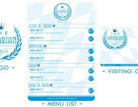 #17 para Design a Menu and Business Card for a Bavarian Restaurant and Beer Garden por SubodhStha