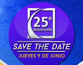 #95 for Diseño de un Save the Date para evento de aniversario by nachexbol