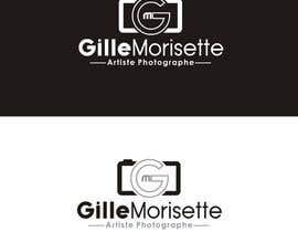 nº 22 pour Concevez un logo Gille Morisette Artiste Photographe par Graphicpub