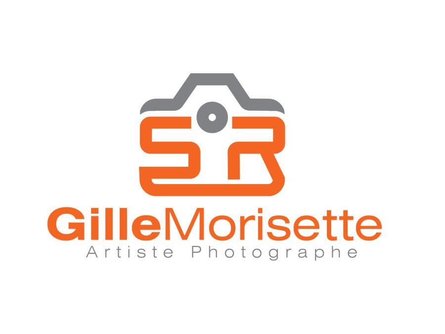Proposition n°                                        25                                      du concours                                         Concevez un logo Gille Morisette Artiste Photographe