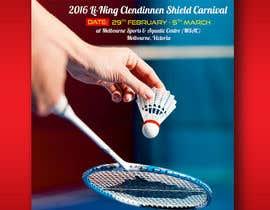 #3 для Design A Badminton Tournament Poster от linokvarghese