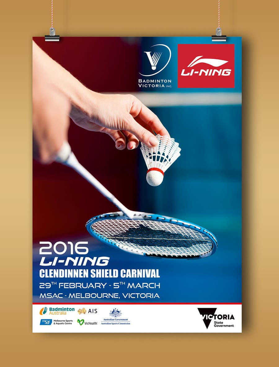 Entry #4 by linokvarghese for Design A Badminton ...