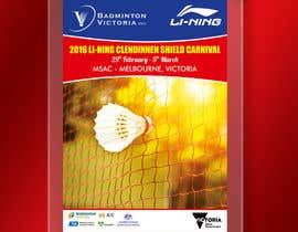 #8 для Design A Badminton Tournament Poster от linokvarghese