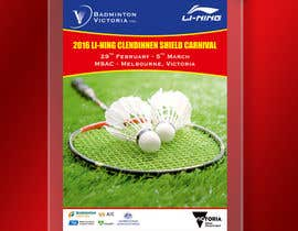 #10 для Design A Badminton Tournament Poster от linokvarghese
