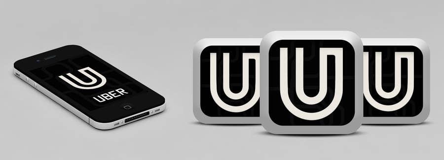 Contest Entry #                                        60                                      for                                         Design Challenge: Submit Your Own Version of Uber's New App Icon