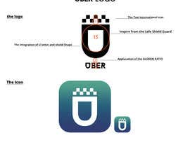#104 for Design Challenge: Submit Your Own Version of Uber's New App Icon by gfxalex12