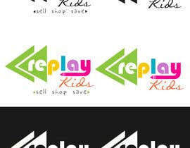 #73 para Design a Logo for Replay Kids por fadzkhan