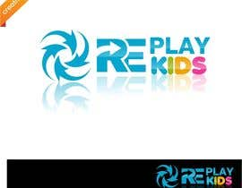 nº 7 pour Design a Logo for Replay Kids par creativodezigns
