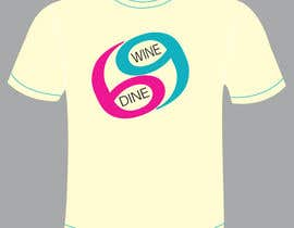 #46 for Simple T-Shirt Design for Wine Dine 69 by Valarie7