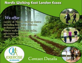 #23 for Design a Logo for Nordic Walking East London af silverpendesigns