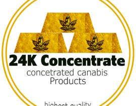 #2 for Design logo for 24K Concentrate af TheAlcatraz9