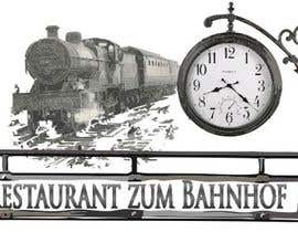 #13 for Design eines Logos for Restaurant zum Bahnhof by z35304