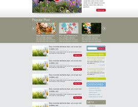 designBox16 tarafından Design a Website Mockup for ONE page için no 11